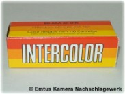 Intercolor Color Negative Film 110 Cartridge